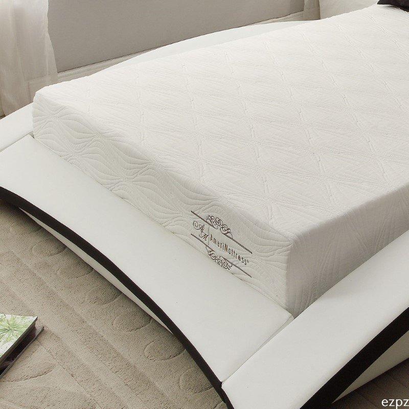 HomeRoots Furniture Gel Infused Memory Foam Queen/Standard Pillow (248496)