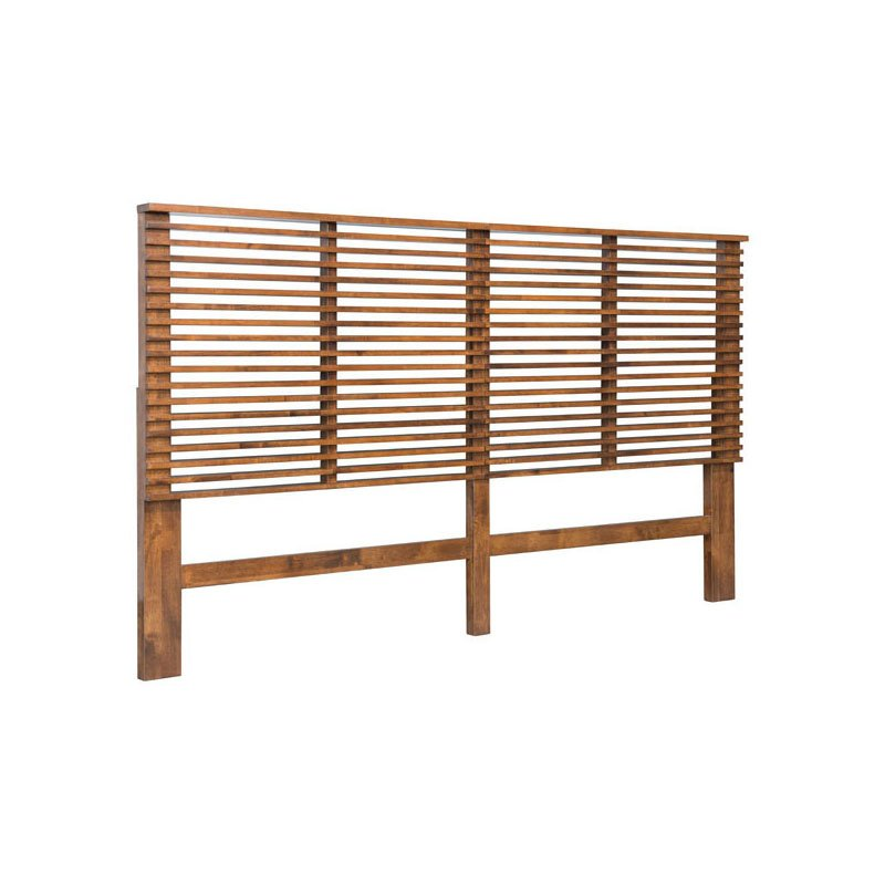 HomeRoots Furniture Headboard King Walnut (309009)