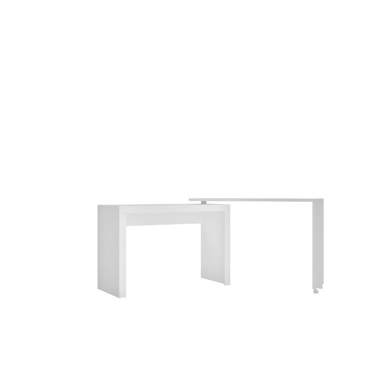 HomeRoots Furniture Innovative Nested Desk in White (250794)