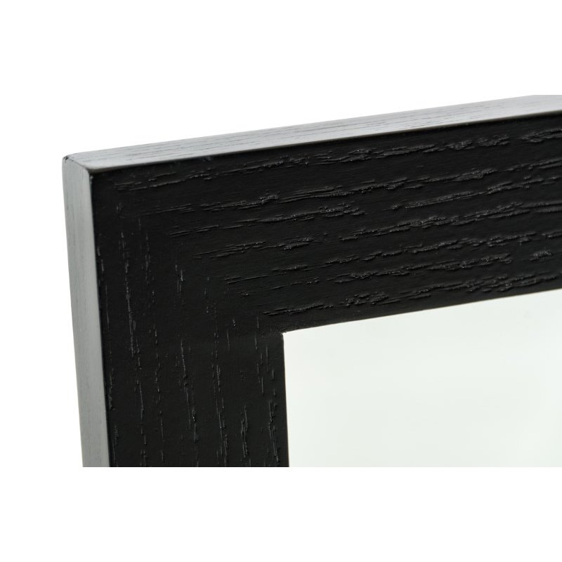 HomeRoots Furniture Modern Black Oak Mirror (283554)