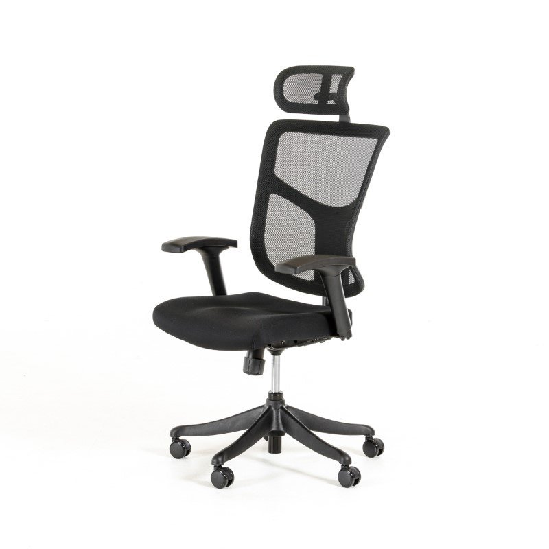 HomeRoots Furniture Modern Black Office Chair (282719)