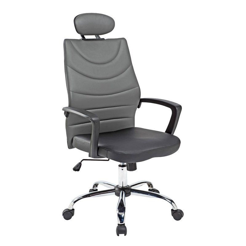 HomeRoots Furniture Modern Black Office Chair (283753)