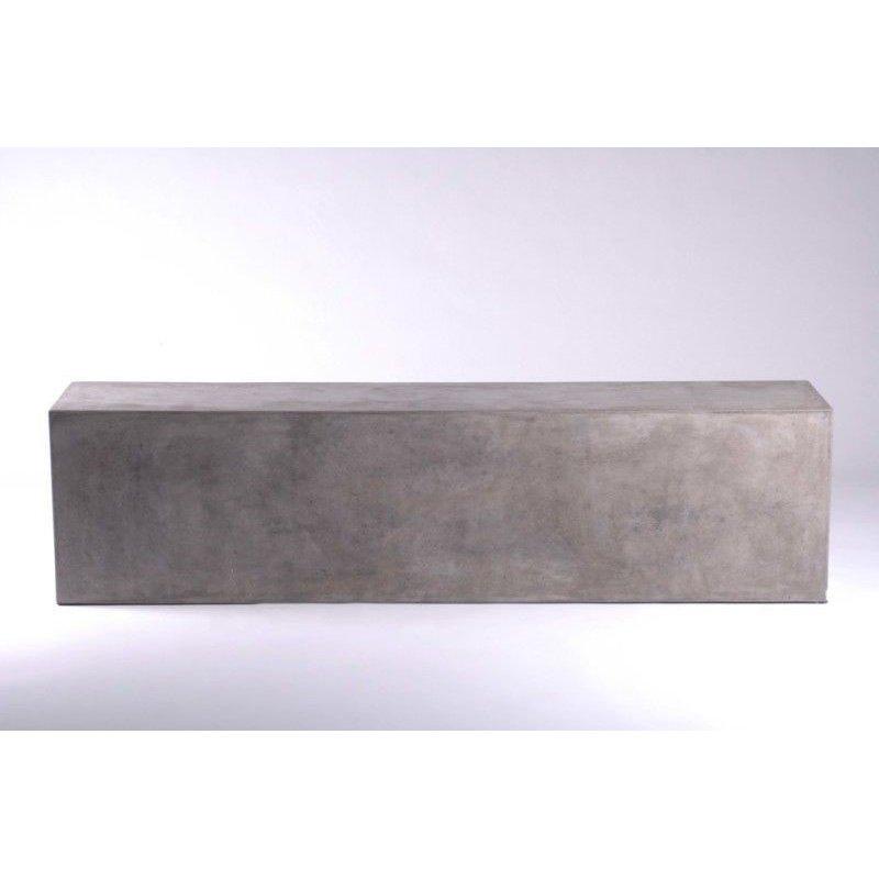 HomeRoots Furniture Modern Concrete Bench (283295)