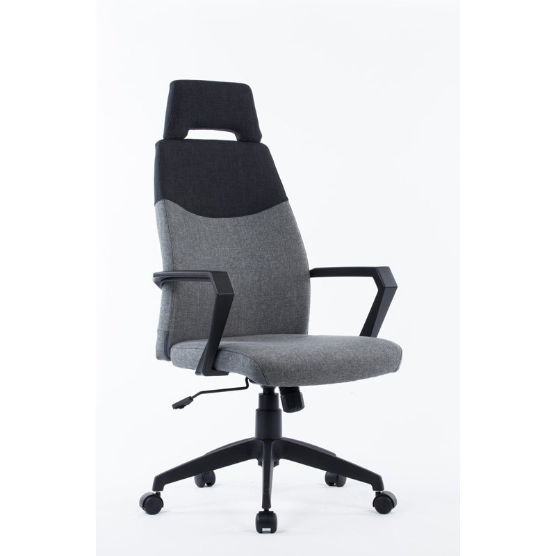 HomeRoots Furniture Modern Grey & Black Office Chair (283756)