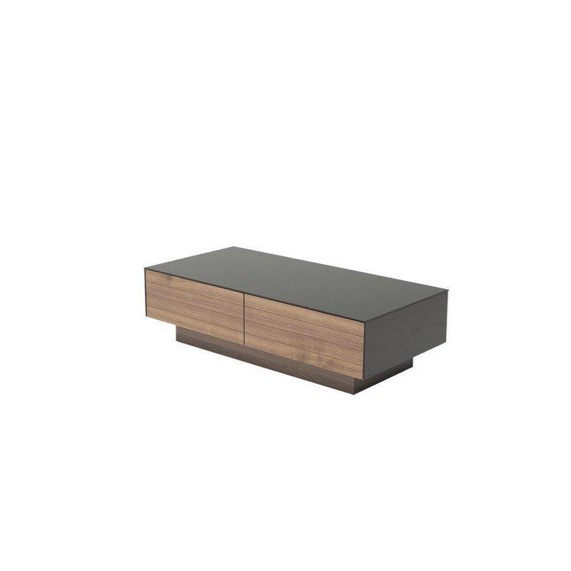 HomeRoots Furniture Modern Walnut Coffee Table (283422)