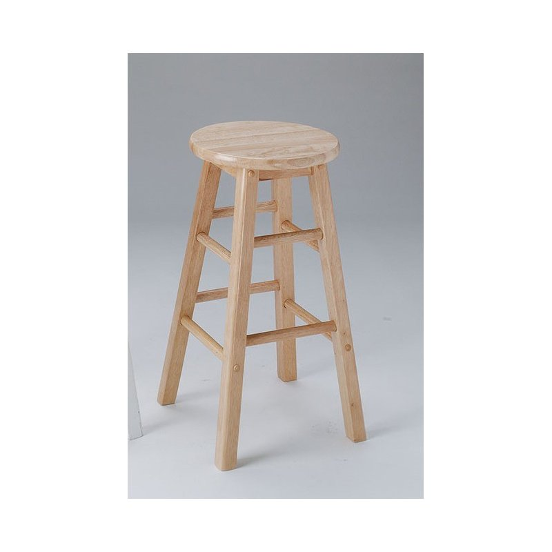 HomeRoots Furniture Nightstand, - Rubber Wood, Tropical Woo Black (286488)