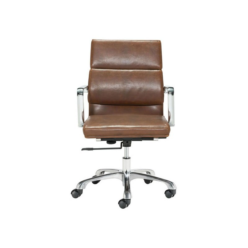 HomeRoots Furniture Office Chair Vintage Brown (296298)