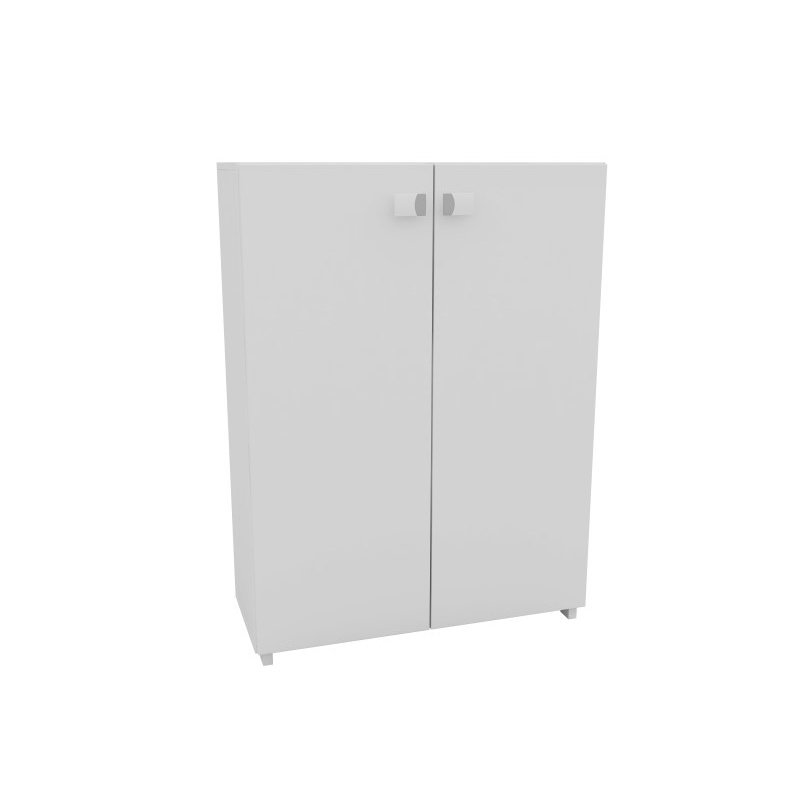 """HomeRoots Furniture Sophisticated """"Z"""" Shoe Closet with 8 Shelves in White (250816)"""