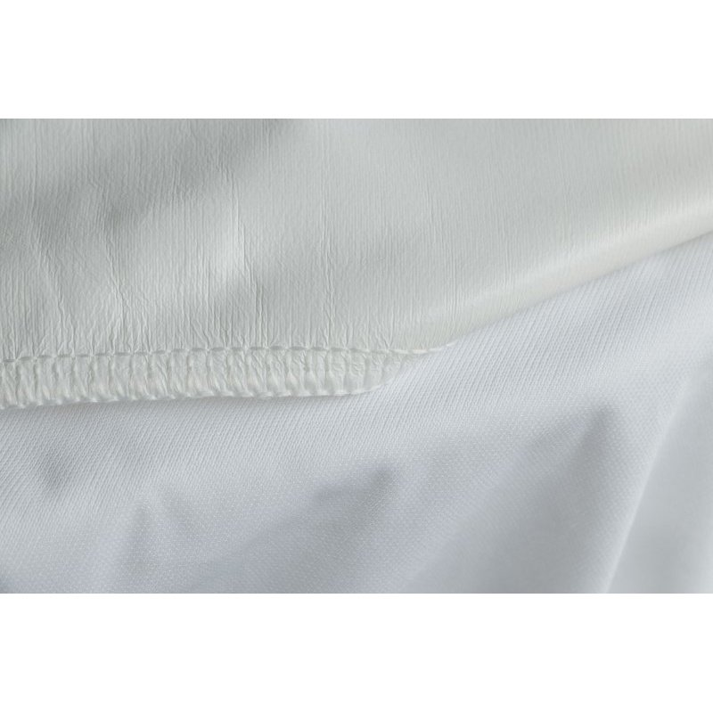 HomeRoots Furniture Waterproof Polyester Hypoallergenic Full Premium Mattress Protector (248121)