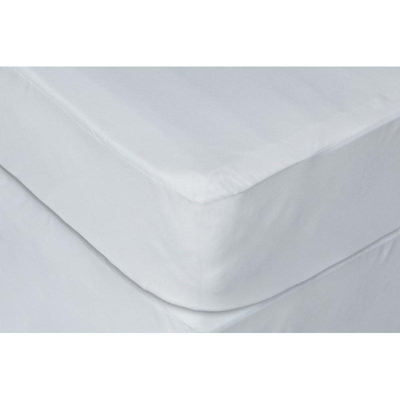 HomeRoots Furniture Waterproof Polyester Hypoallergenic Twin Extra Long Premium Mattress Protector (248120)