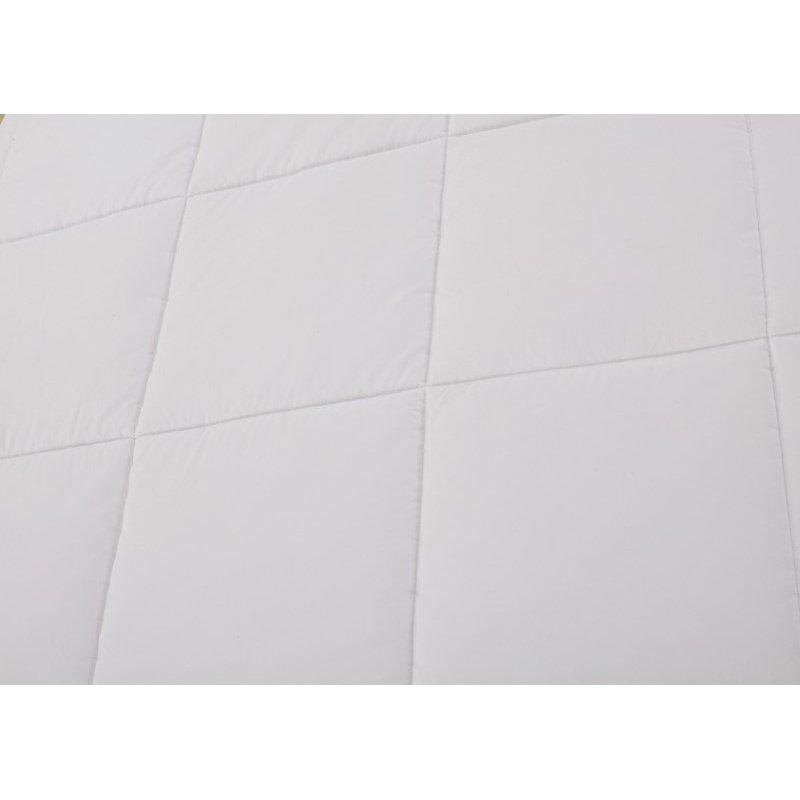 HomeRoots Furniture White Polyester Medium Warmth Twin Down Alternative Comforter Duvet Insert (248176)