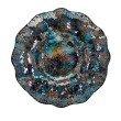 IMAX Addis Glass Mosaic Decorative Charger (14370)