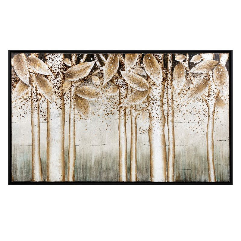 IMAX Alder Silver Wall Decor with Frame (11374)