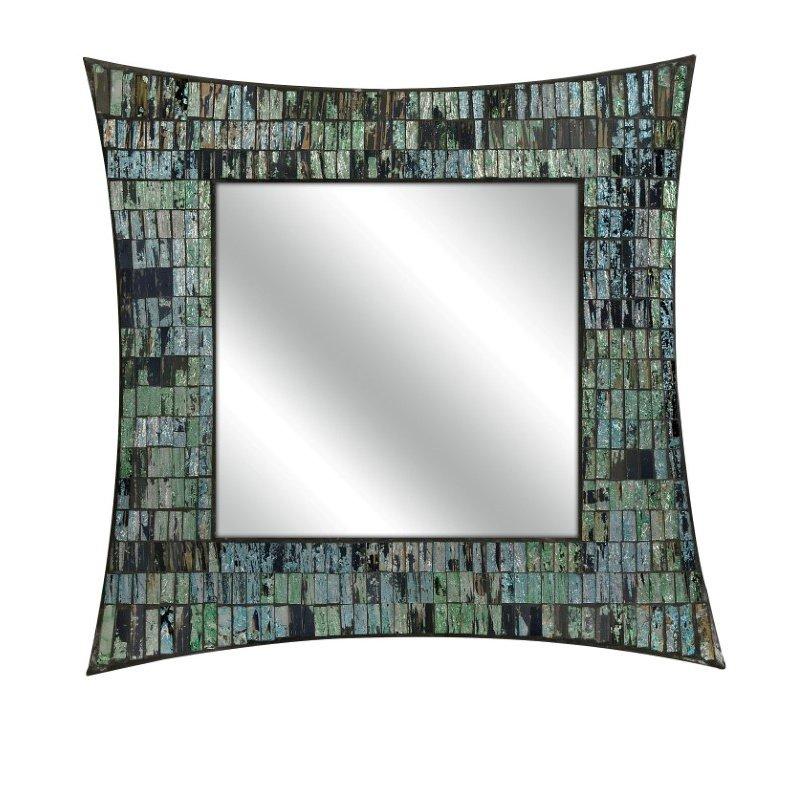 IMAX Aramis Mosaic Glass Wall Mirror (96108)