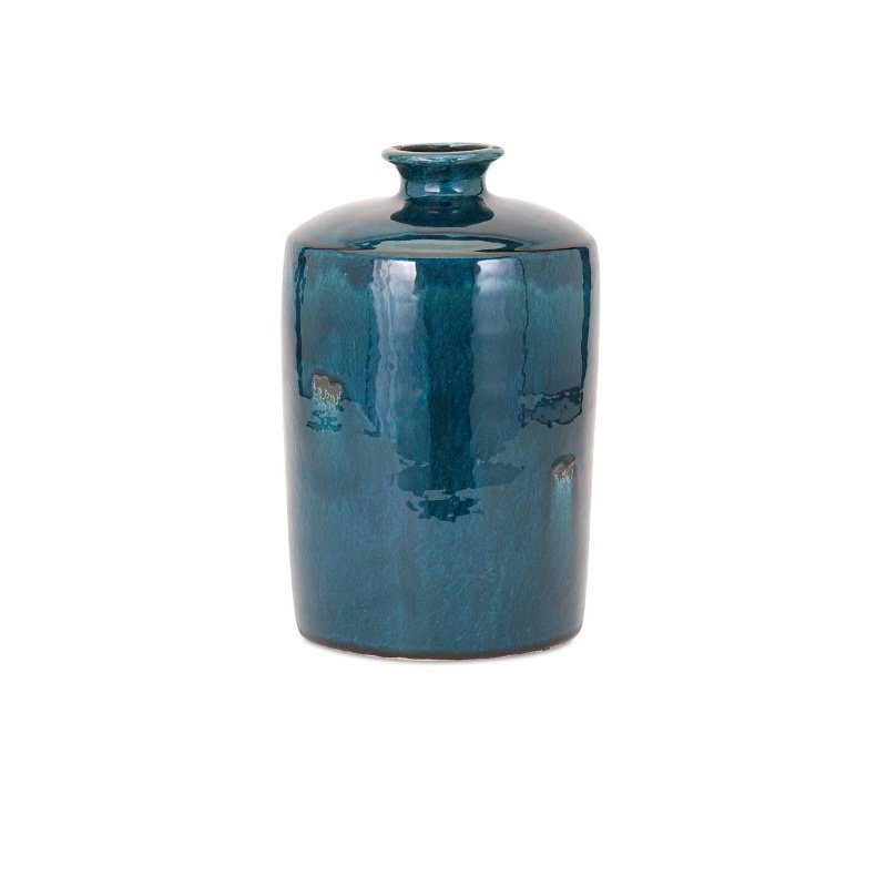 IMAX Arlo Medium Blue Vase (13309)