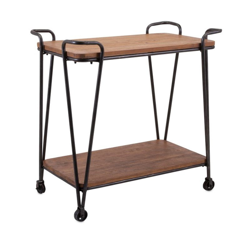 IMAX Austin Wood and Iron Table (88709)