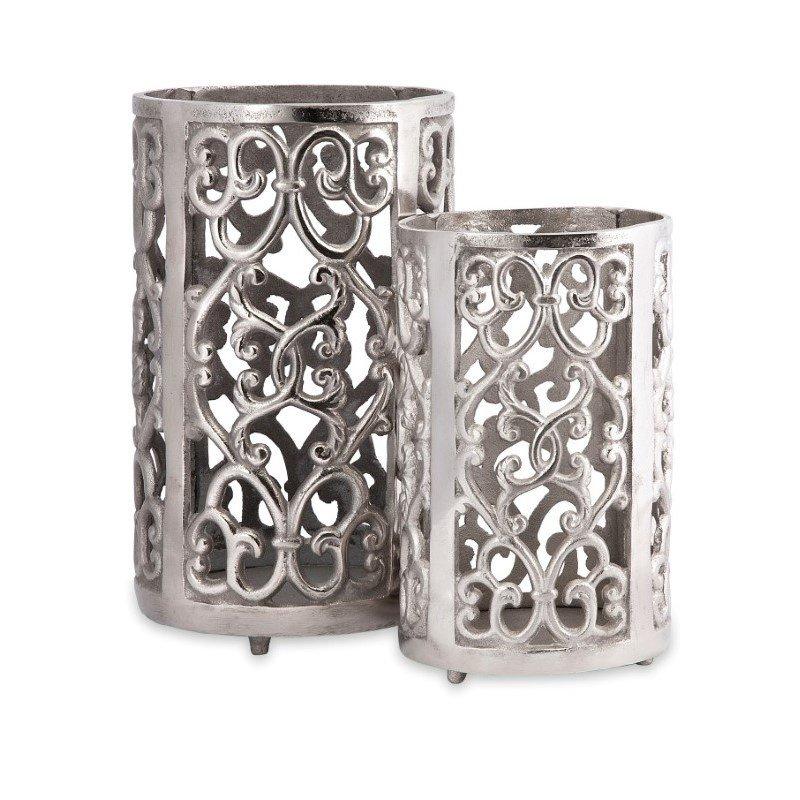 IMAX Balin Candle Lanterns - Set of 2 (84229-2)