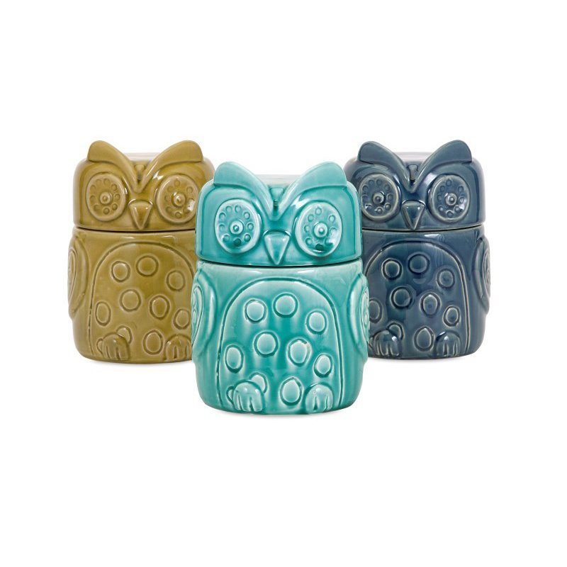 IMAX Bristol Owl Canisters - Set of 3 (A0314119)