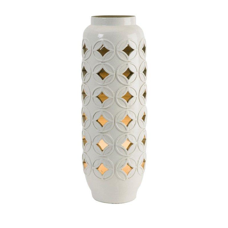 IMAX Calvinia Cutout Ceramic Lamp (18186)