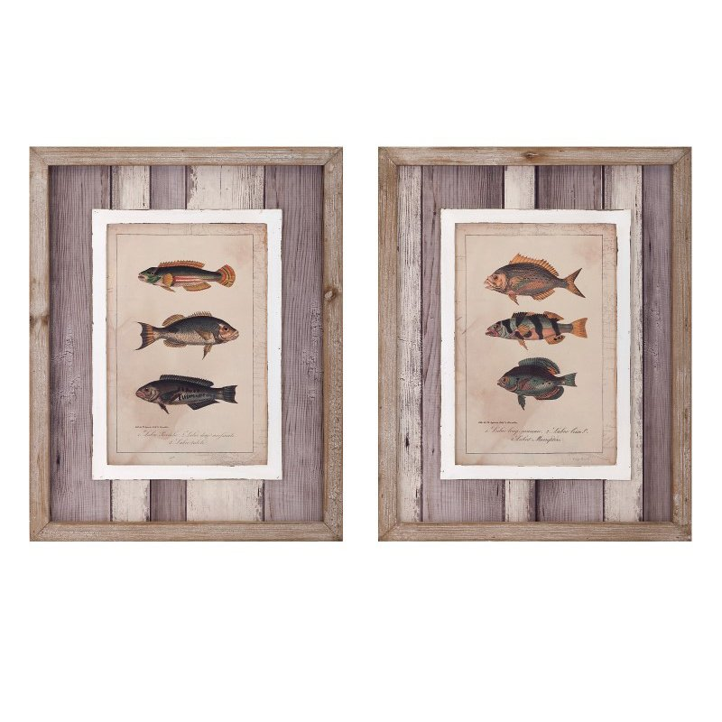 IMAX Catch of the Day Wall Decor - Set of 2 (A0297315)