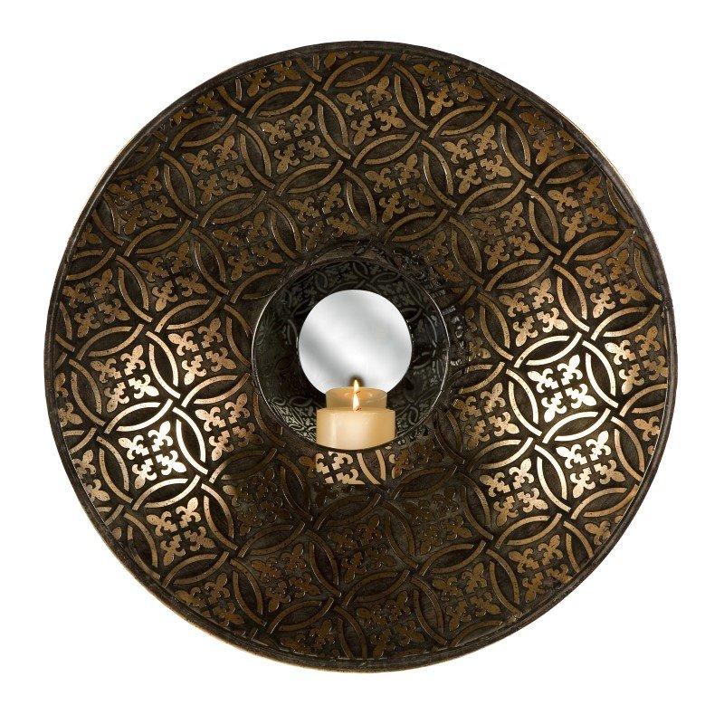 IMAX Cocobolo Mirrored Wall Sconce (12409)