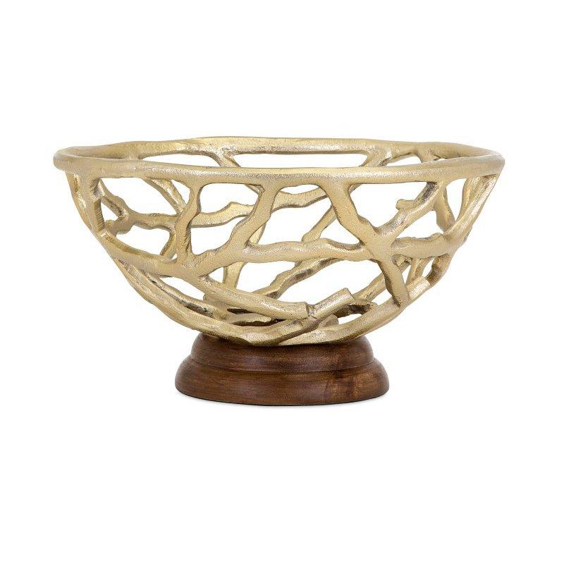 IMAX Concepts Eden Branch Decorative Bowl (14291)
