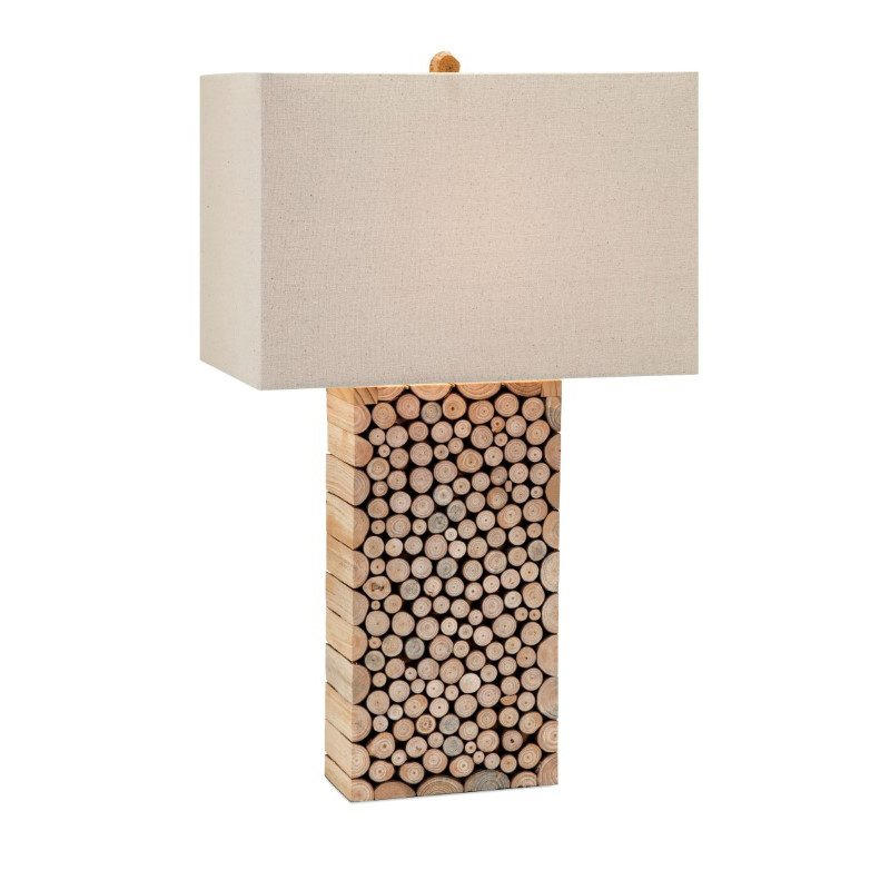 IMAX Cynder Wood Table Lamp (59262)