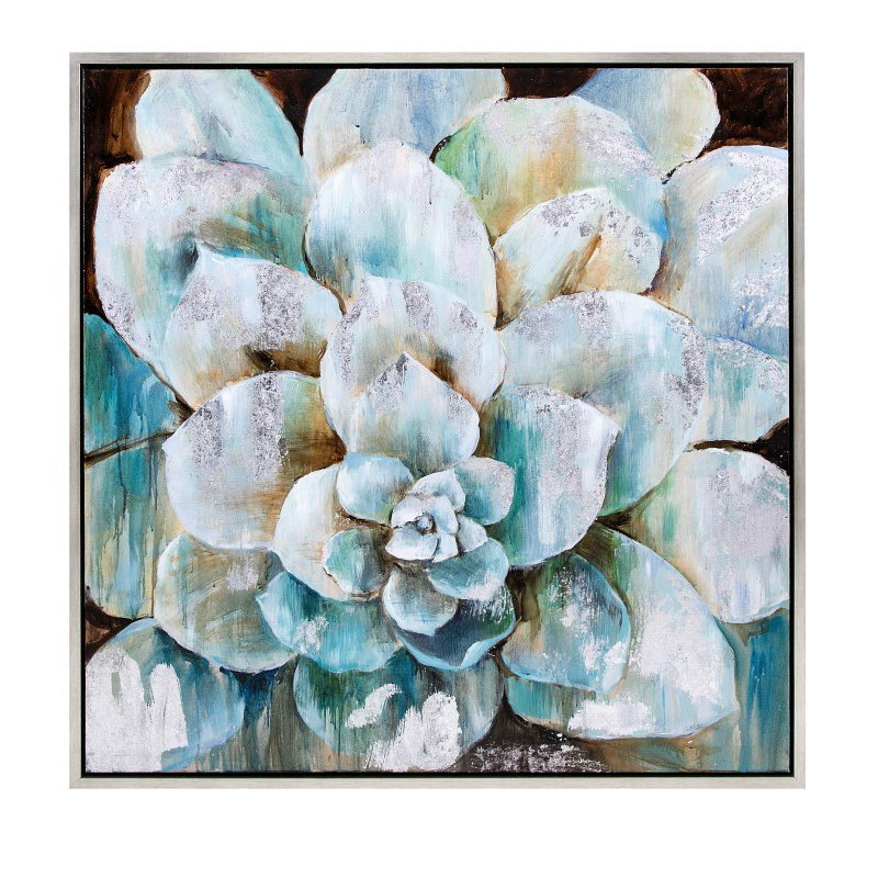 IMAX Delighted Flora Framed Oil Painting (76335)