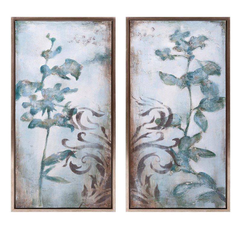 IMAX Devante Framed Oil Paintings - Set of 2 (A0276259)