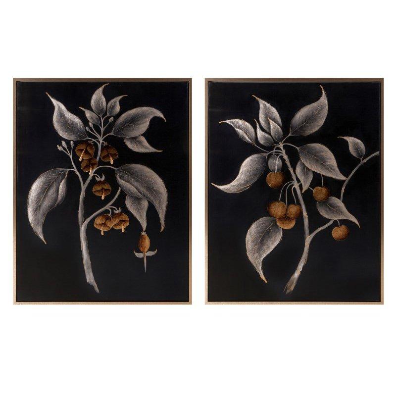 IMAX Ebina Framed Oil Paintings - Set of 2 (A0276288)
