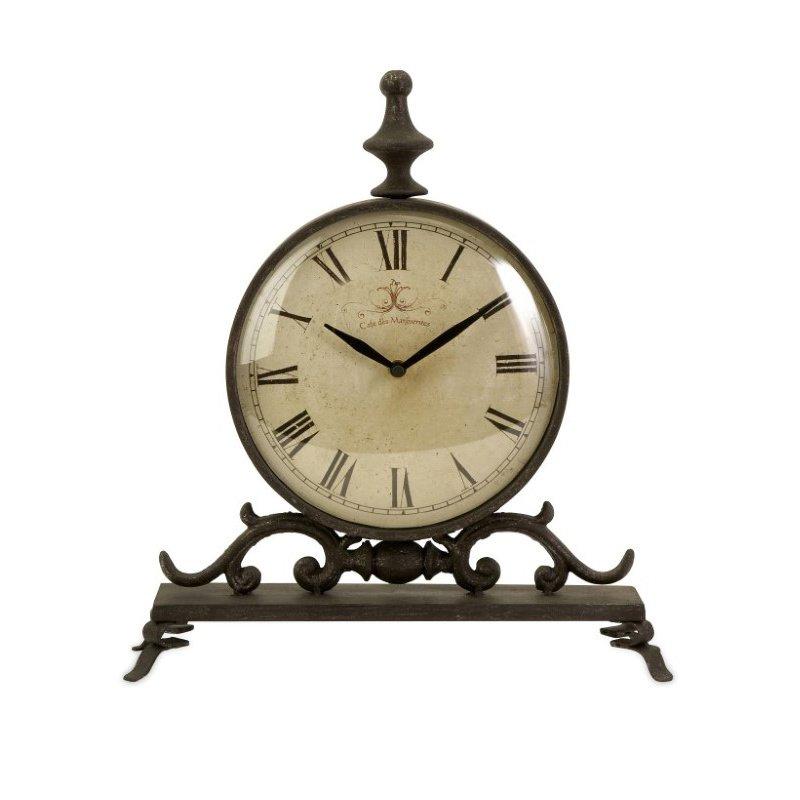 IMAX Eilard Iron Table Clock (27562)