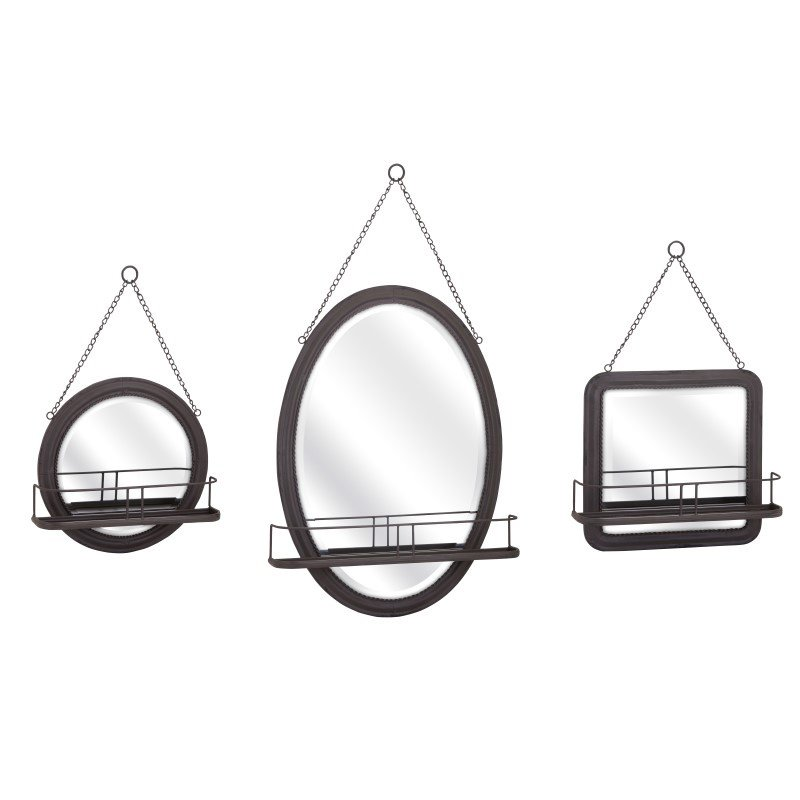 IMAX Ella Elaine Shaving Mirrors - Set of 3 (88922-3)