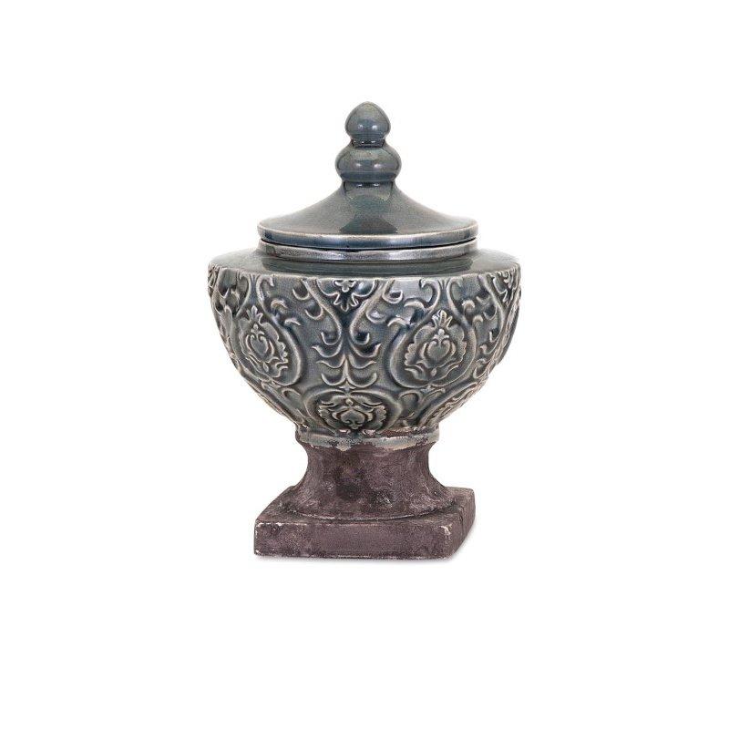 IMAX Elliott Small Ceramic Urn (13315)
