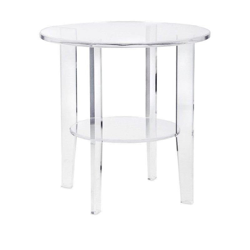 IMAX Estelle Acrylic Accent Table (13215)