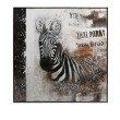 IMAX Framed Safari Zebra Oil on Canvas (82119)