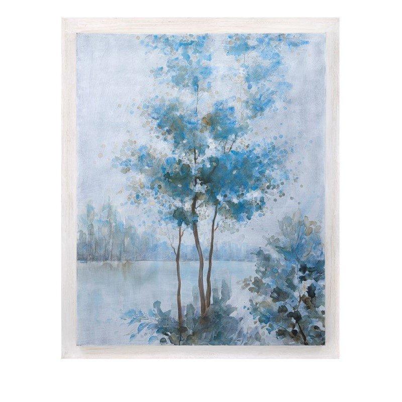 IMAX Frost Awakening Wood Framed Oil Painting (76272)