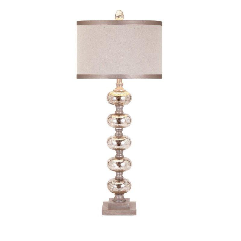 IMAX Ginger Mercury Glass Lamp (31428)