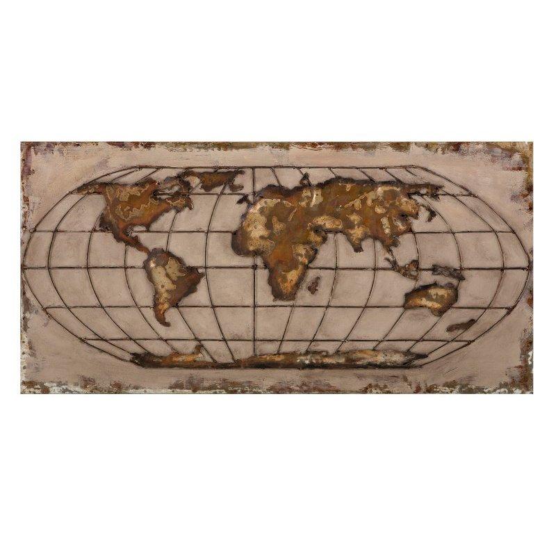 IMAX Globe Dimensional Wall Art (26512)