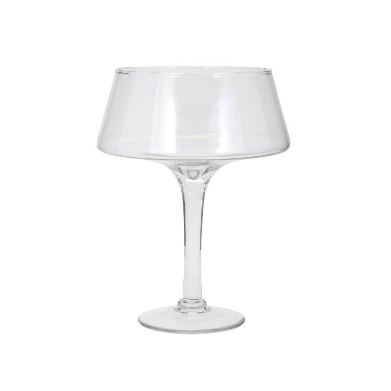 IMAX Hedy Medium Glass Pedestal Bowl (85849)
