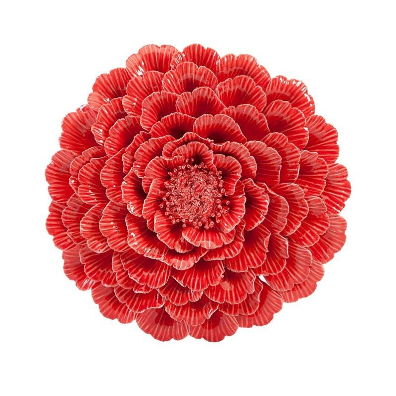 IMAX Kastania Porcelain Wall Flower (83300)