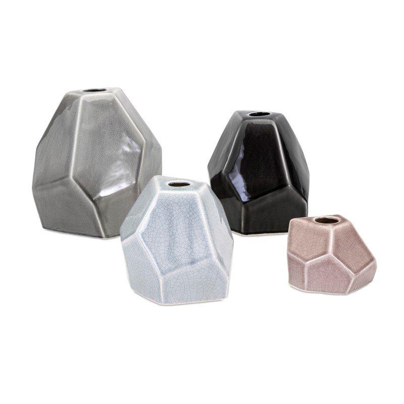 IMAX Lox Vases - Set of 4 (14170-4)