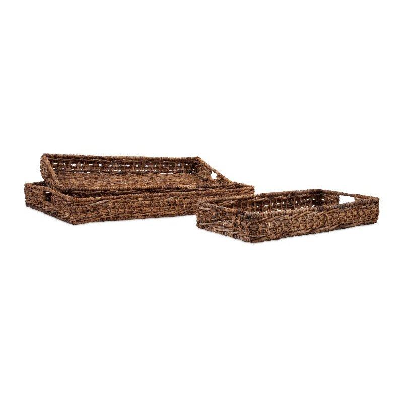 IMAX Madura Banana Leaf Trays - Set of 3 (11663-3)