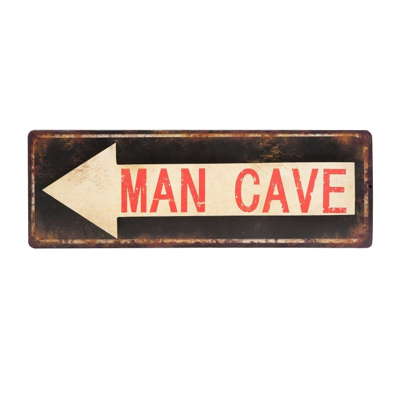 IMAX Man Cave Wall Decor (74406)