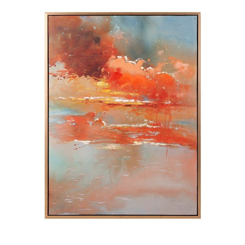 IMAX Messer Oil on Canvas with Frame (11504)