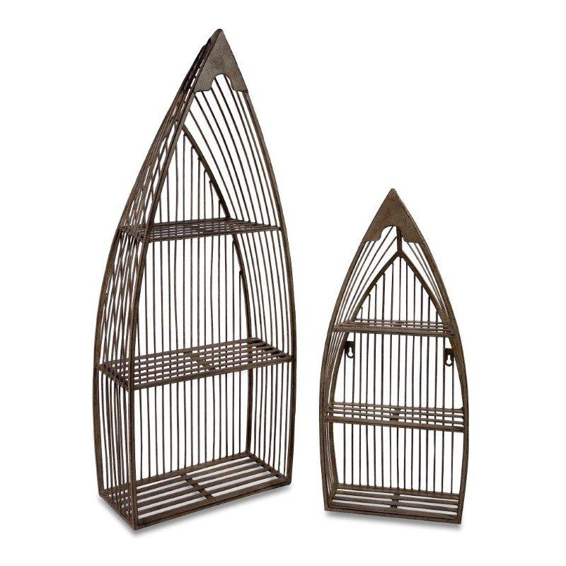 IMAX Nesting Boat Shelves - Set of 2 (10667-2)