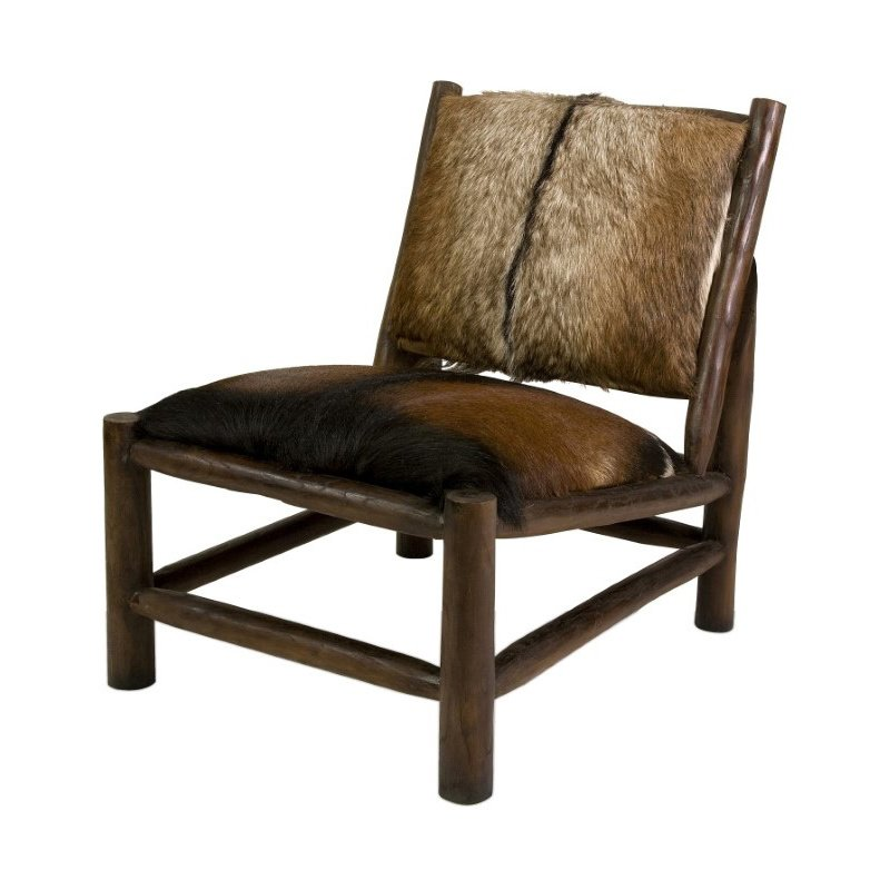 IMAX Pacino Animal Hide Accent Chair (51380)