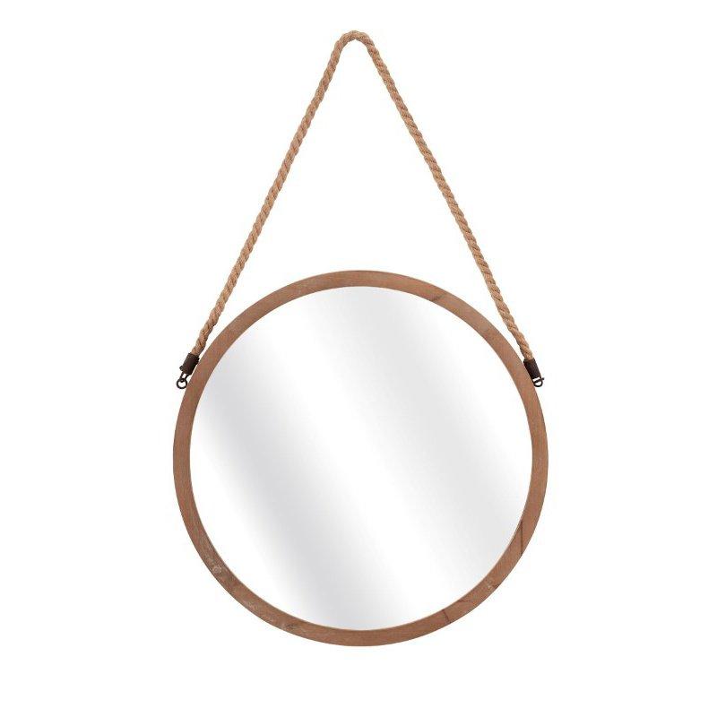 IMAX Rally Wood Mirror (65291)