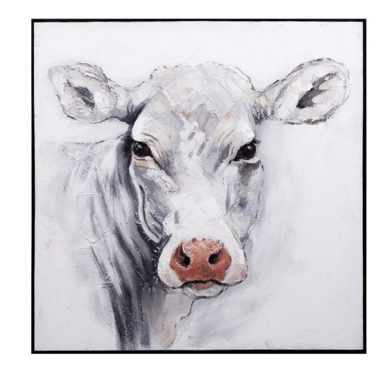 IMAX Rickey Cow Oil Painting (82522)