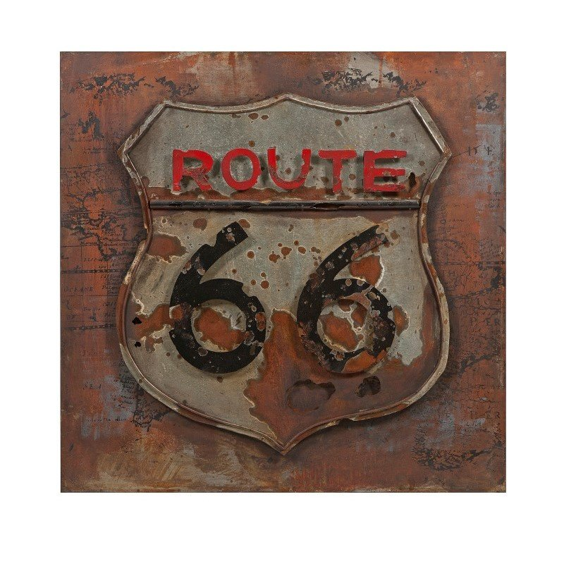 IMAX Route 66 Dimensional Metal Art (26506)