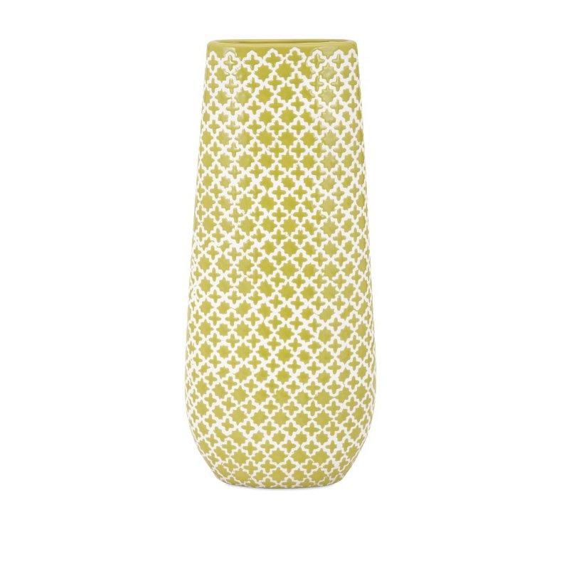 IMAX Sarina Graphic Vase (25322)